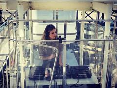 Ella Whatt em uma das maiores rodas-gigantes da América Latina